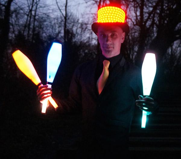 book glow juggling act