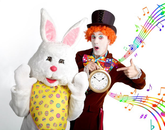 easter mad hatter walkabout