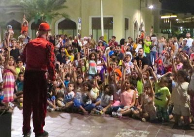 Oman -  Children's mime show