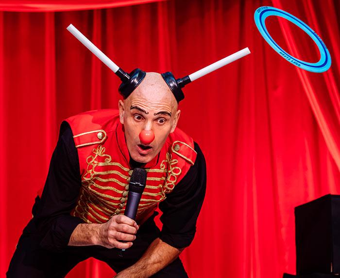 One Man Circus Show by Jason Maverick